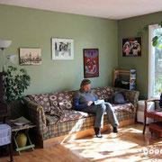 unser Wohnzimmer in Whitehorse