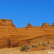 Das Wahrzeichen Utahs - Delicate Arch