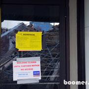 viele Gebäude sind wegen zu starker Beschädigungen gesperrt