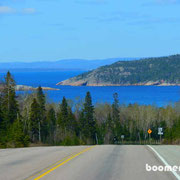 Entlang am Lake Superior