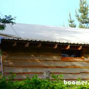 Bis zu 20 cm Asche auf den Dächern