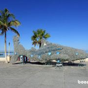 Walhai aus PET-Flaschen