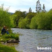 Lesen am Fluss