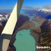 Der Gletschersee des Tasman Glacier