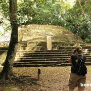 beeindruckende Tempel in Lamanai