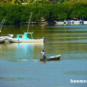 Fischer in der Bucht