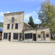 besoffene Häuser in Dawson City