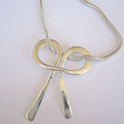 """Friendships"" - Forged Sterling Silver  - see Current Collection"