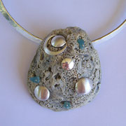 Anna's Shell - Silver & Found Shell from Her Wedding Day - SOLD