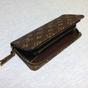 長財布を開いた状態