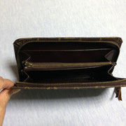 長財布の中