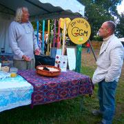 Les faucheurs bretons - festival bio de Guichen en Bretagne