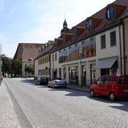 Mönchstraße mit Blick zum Markt