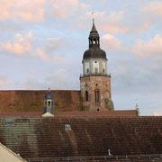 Blick auf St. Marien Kirche