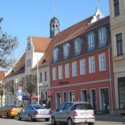Leesemanns Ecke mit Rathaus