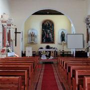 Funtana / Pfarrkirche Sankt Bernhard