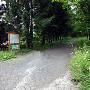 Einstieg in die Dobrasee Strecke
