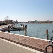 Chioggia, Rad- und Spazierweg um die Laguna del Lusenzo