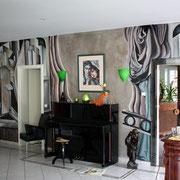"Illusionsmalerei ""Art Deko"" Style, Privatkunde"