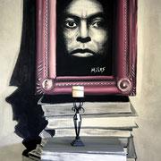 Illusionsmalerei Jazz-Style (Miles Davis), Möbelhaus