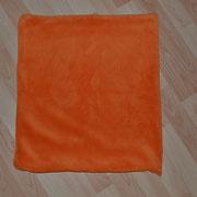 4 Kissenbezüge orange ohne Füllung