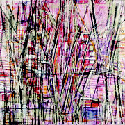 """""""Voiles""""- acrylique sur toile- 80x80 cm- Sylvie trilles Fontaine"""