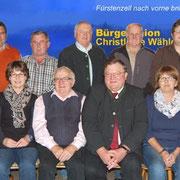 Kandidaten der BU/CWG für die Kommunalwahlen 2014