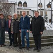Die Führungsmannschaft der BU/CWG im Januar 2016