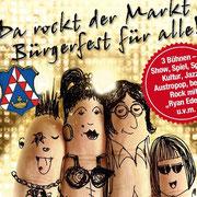 Neues Plakat für das Bürgerfest 2014