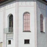 Die renovierte Portenkirche