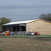 Der neue Bauhof (Teilansicht)