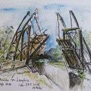 Die Brücke von van Gogh bei Arles