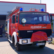 Das LF16-TS soll für die Fahrt genutzt werden.