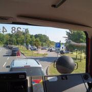 Kurzes Warten an der Fähre in Schacht-Audorf (NOK)