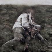 Frantz Metzger - Aurore I , 100 x 100 cm
