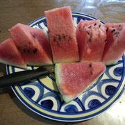 夏ラストすいか、美味し(^^♪