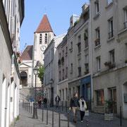 Visite du village de Charonne