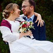 Freie Trauung Brautpaar