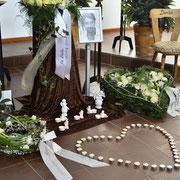 Trauerfeier: Erinnerungsstück Stuhl
