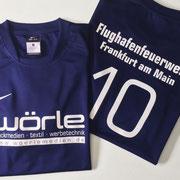 Fußball-Trikotbeschriftung - Nike