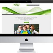 Erstellung der Internetpräsenz / Webdesign