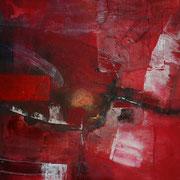 Das Fass ist voll - Acryl Mischtechnik 50 x 50 cm, 2013