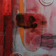 Befruchtung - Acryl Mischtechnik 40 x 60 cm, 2013