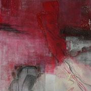 Geburt II - Acryl Mischtechnik 60 x 100 cm, 2012