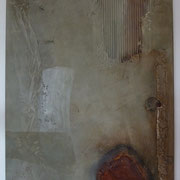 Rostgeschichten I 50 x 60 cm, 2012