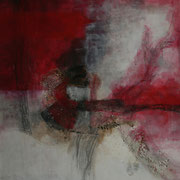 Geburt I - Acryl Mischtechnik 100 x 100 cm, 2012
