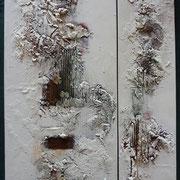 Im Verborgenen liegen die Schätze II -  60 x 80 cm, 2012