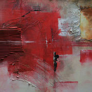 Scheinwelt - Acryl Mischtechnik 60 x 40 cm, 2013