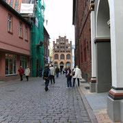 Blick auf das Wulflamhaus (Quelle: eigenes Werk)