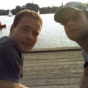 Mit Flo an der Alster '07